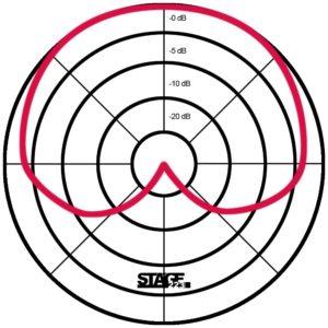 Niere im Polardiagramm -www.stage223.com