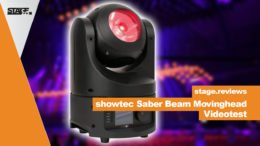 showtec saber LED Movinghead