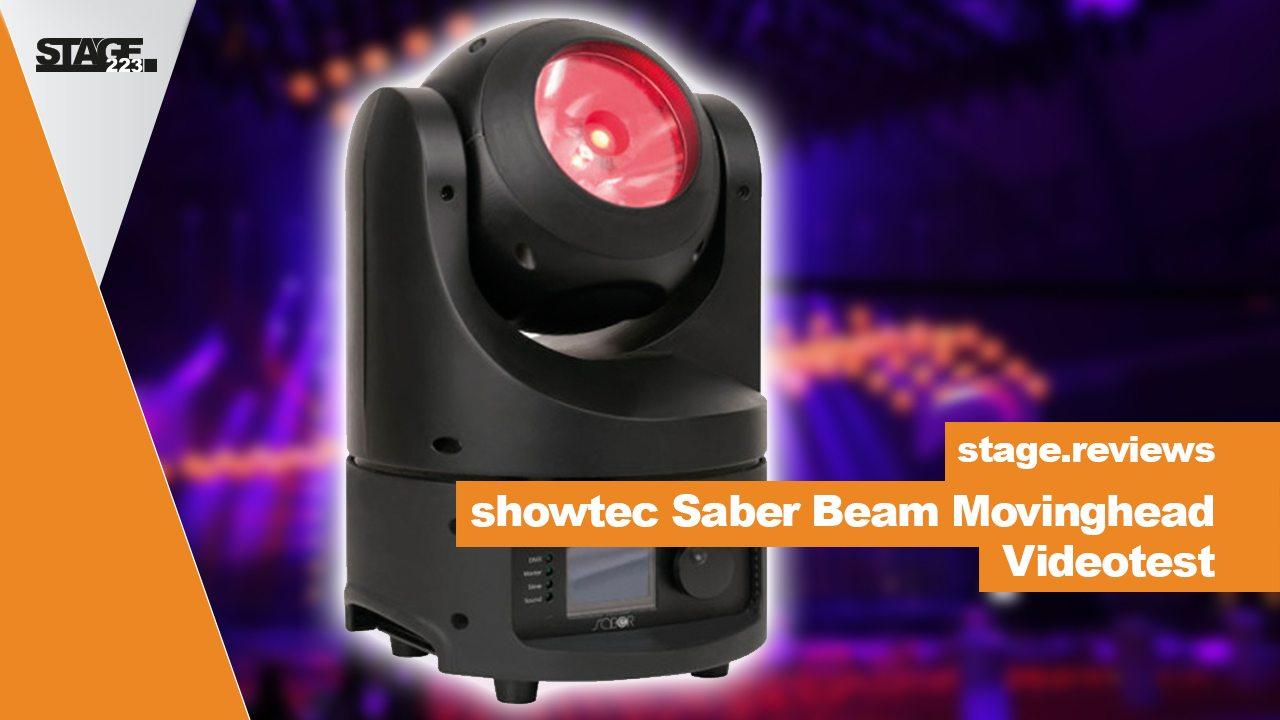 showtec saber LED Movinghead