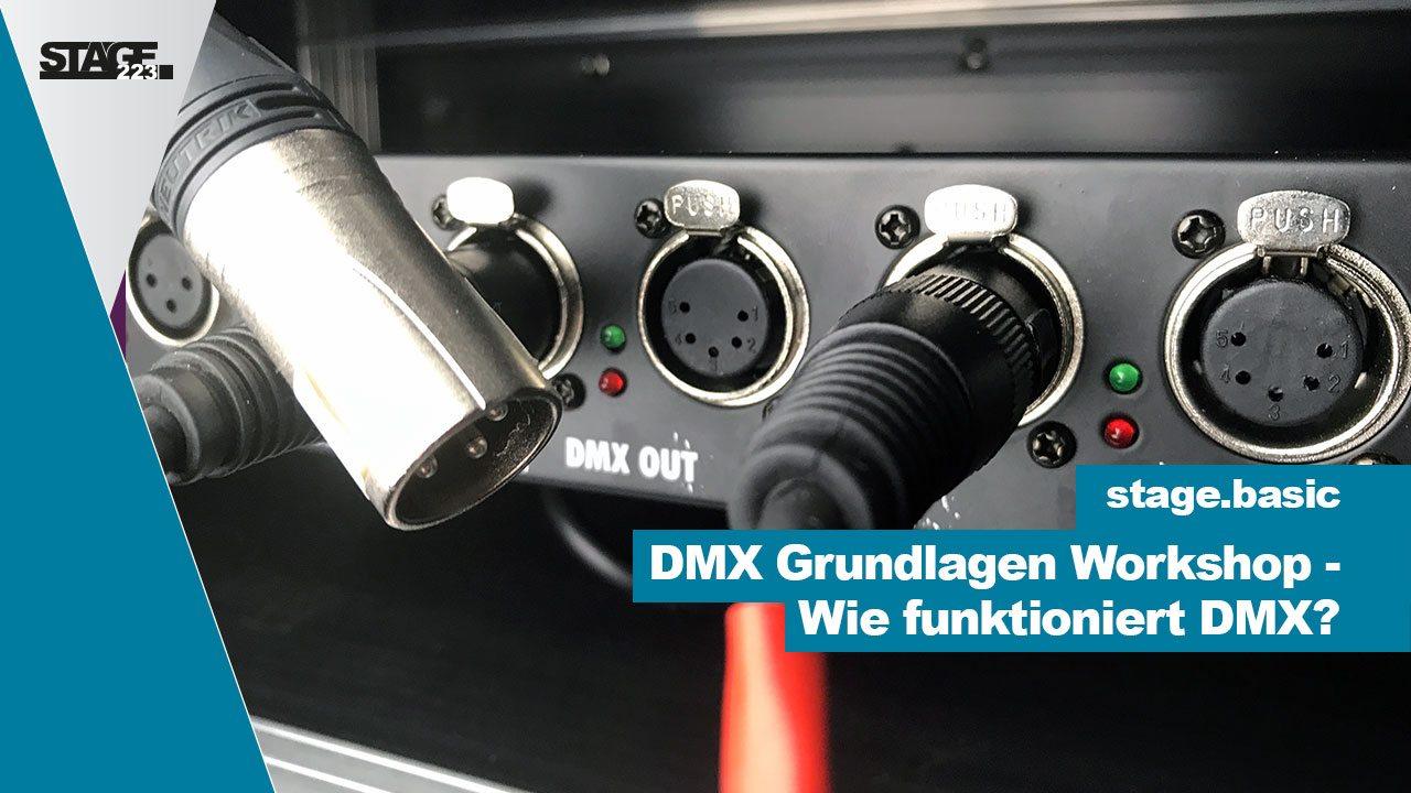 Was ist DMX? - Wie funktioniert DMX? Tutorial