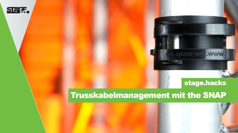 Trusskabelmanagement mit the SNAP