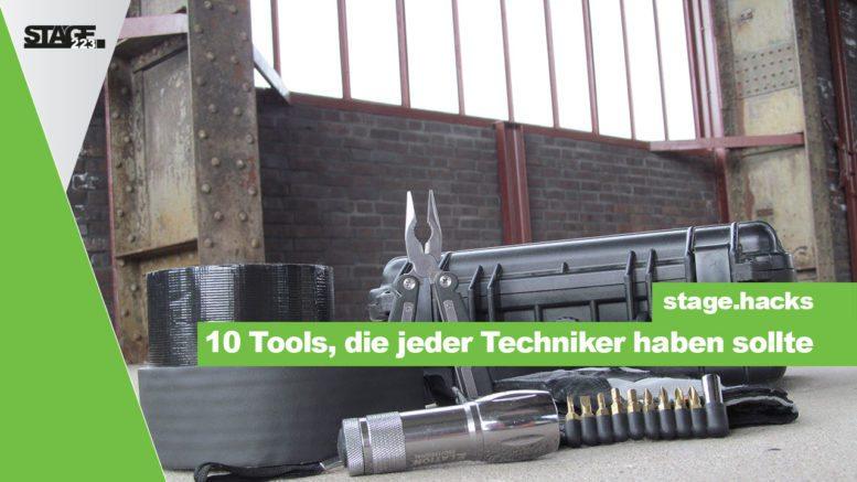 10 Tools für Veranstaltungstechniker