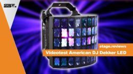 American DJ Dekker LED REview