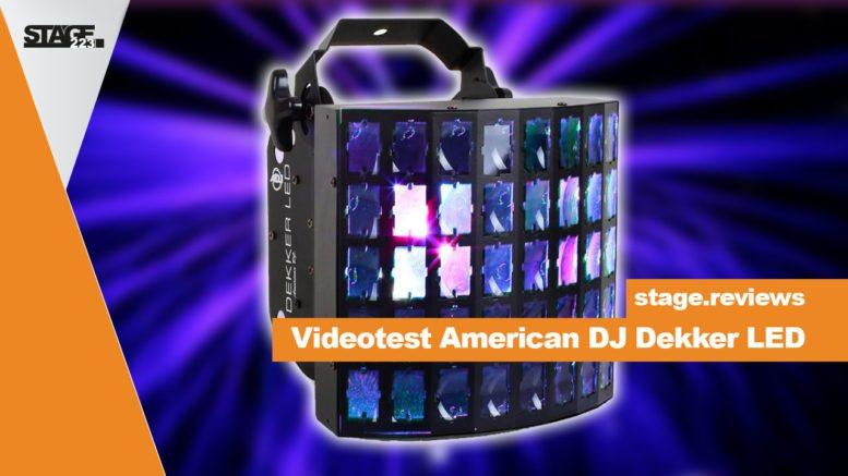 American DJ Dekker LED REview