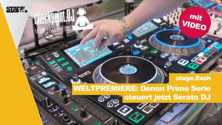 Denon Prime unterstützt Serato DJ
