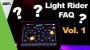 Light rider FAQ Volume 1