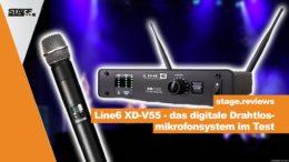 Line6 XD V55 - digitales Drahtlosmikrofonsystem im Test