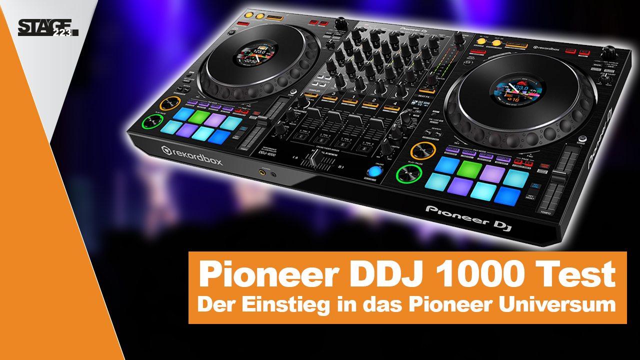 Pioneer DDJ 1000 im Test- Der Einstieg ins Pioneer Universum