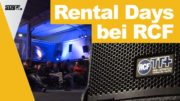 RCF Rental Days