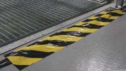 SweetPRO Tunnel Tape, schwarz/gelb, Foto: Huss Licht & Ton