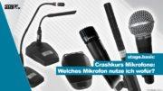 Mikrofone kennenlernen - stage223