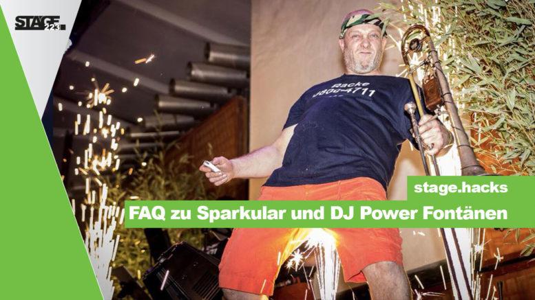 Sparkular Fontänen - Häufige Fragen