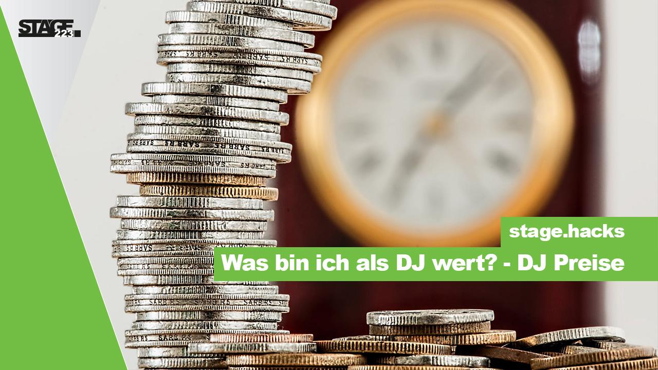 DJ Preise - Was bin ich wert als DJ?