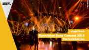 Eurovision Song Contest 2018 Bühnentechnik