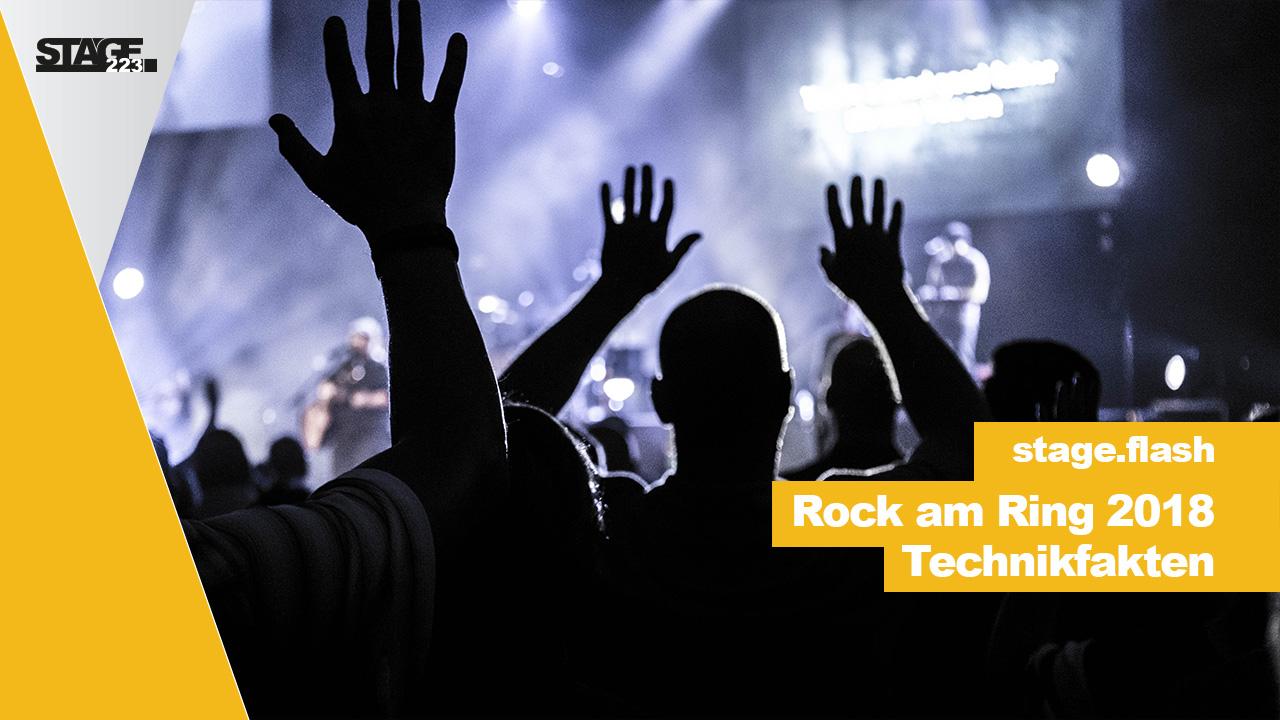 Rock am Ring 2018 - Technikfakten
