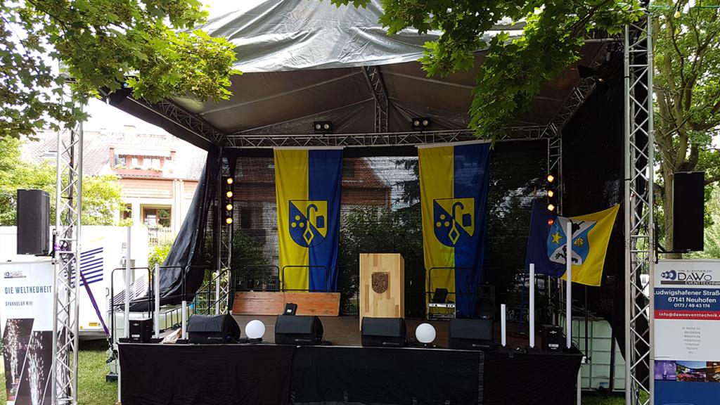 Bühne Rehbachfest 2018