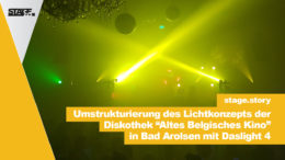Daslight 4 im Einsatz in einer Disko