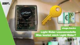 Was kostet Light Rider?