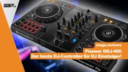 Pioneer DDJ-400 im Test - Der beste DJ Controller für DJ Einsteiger