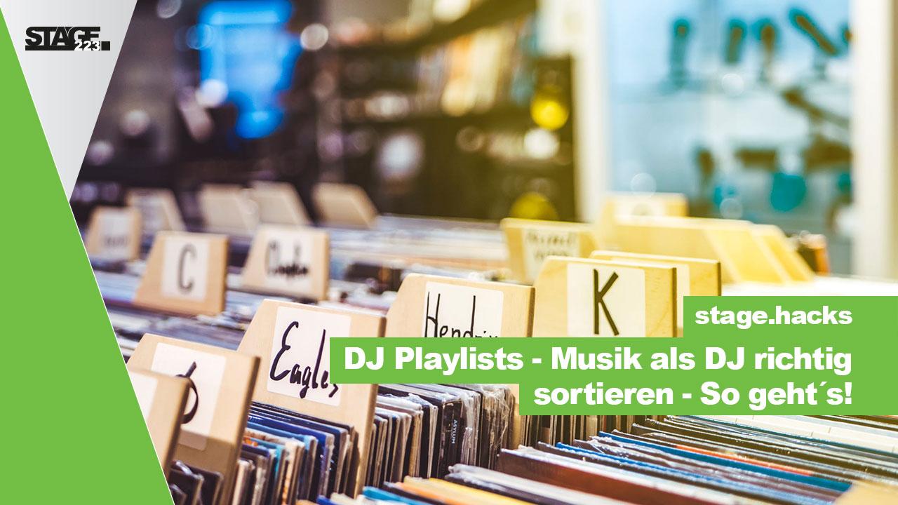 Musik als DJ richtig sortieren - So gehts