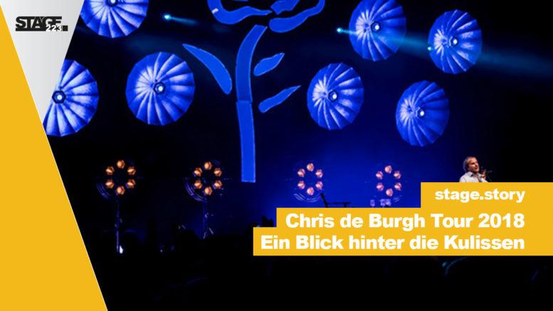 Ein Blick hinter die Kulissen der Chris de Burgh Tour.