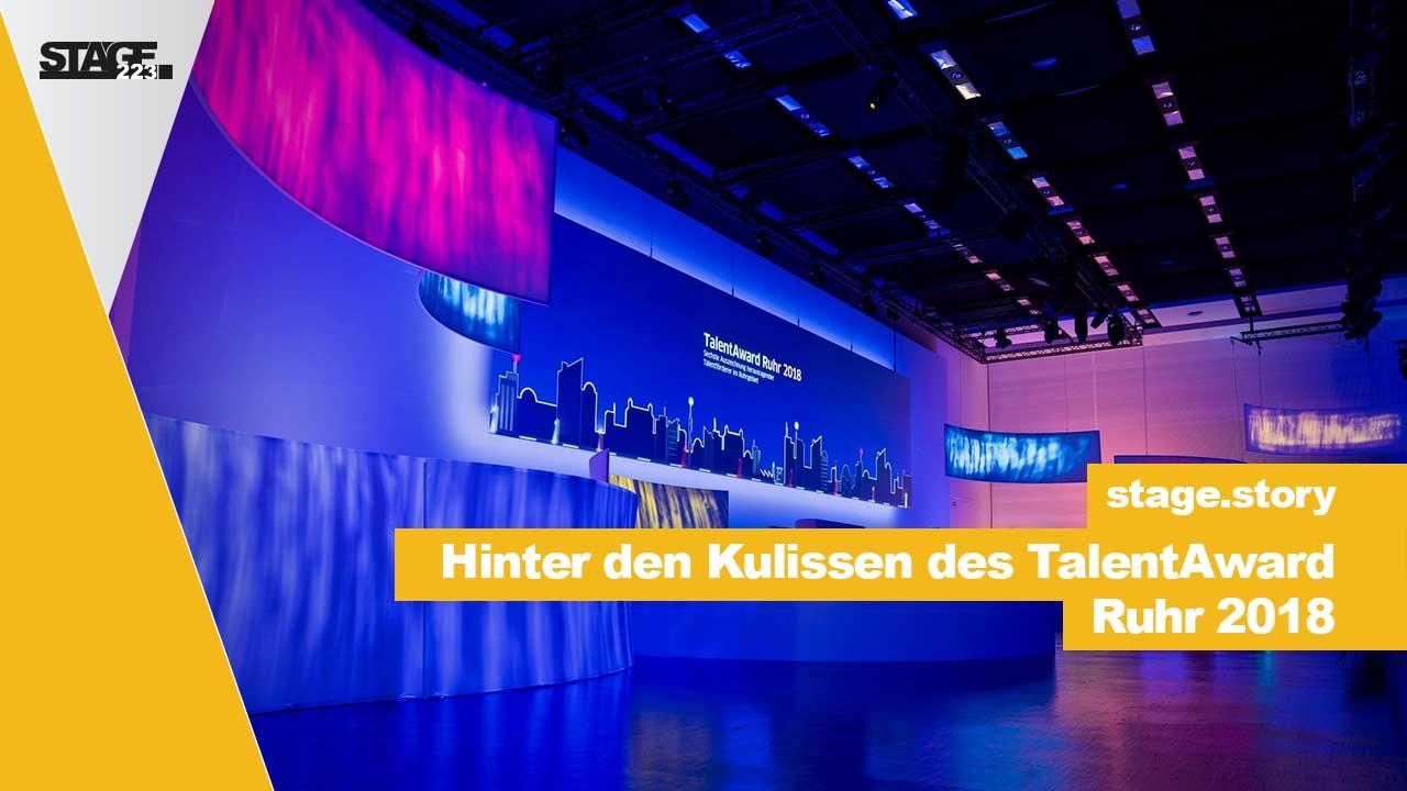 Hinter den Kulissen des TalentAward2018