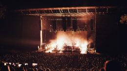 Das L-ISA System wurde von Clearwing Productions bereitgestellt und ermöglichte es den 4.500 Bon Iver-Fans, in das außergewöhnliche Panorama-Klangbild einzutauchen. (Foto: Matt Benton)