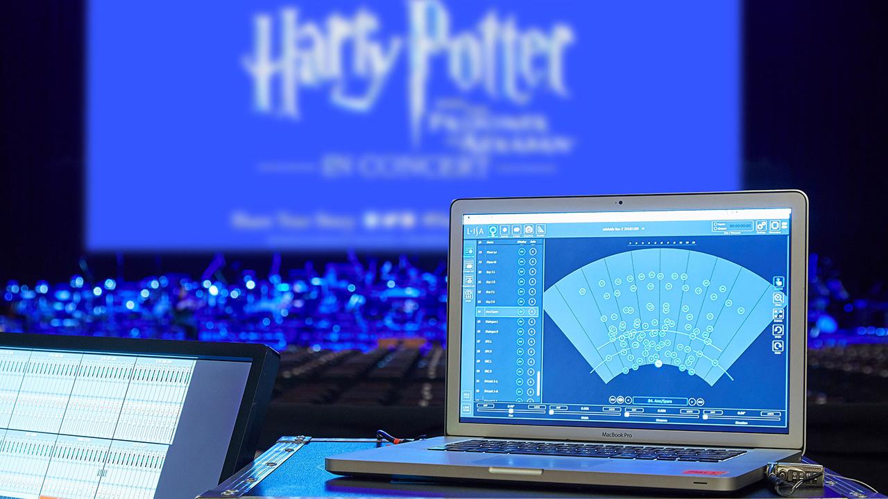 Anpassungen an die orchestrale Klanglandschaft erfolgten in der L-ISA Controller-Software, über die der L-ISA Prozessor angesteuert wurde.