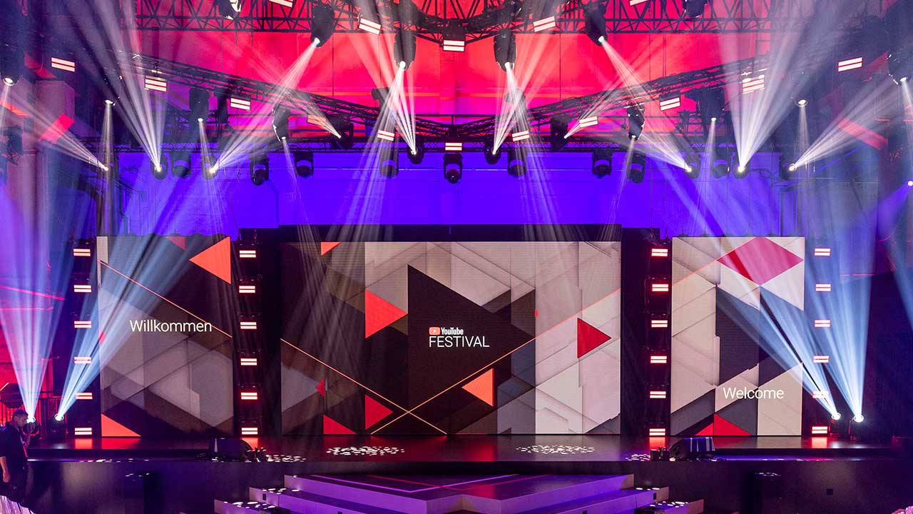 Robe 'verfolgt' den YouTube GOLDENE KAMERA Digital Award 2018