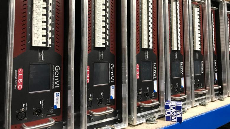 CGS DRY HIRE investiert in Dimmertechnik von LSC und Drahtlos-Technik von LUMENRADIO (Foto: © CGS DRY HIRE)