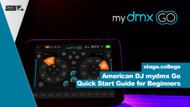 American DJ mydmx Go - Quick Start Guide for Beginners
