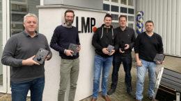 v.l.n.r. Gary Yates, Marc Petzold, Oliver Winkler, Erik Berends und Marcel Vranken (Foto: © LMP)