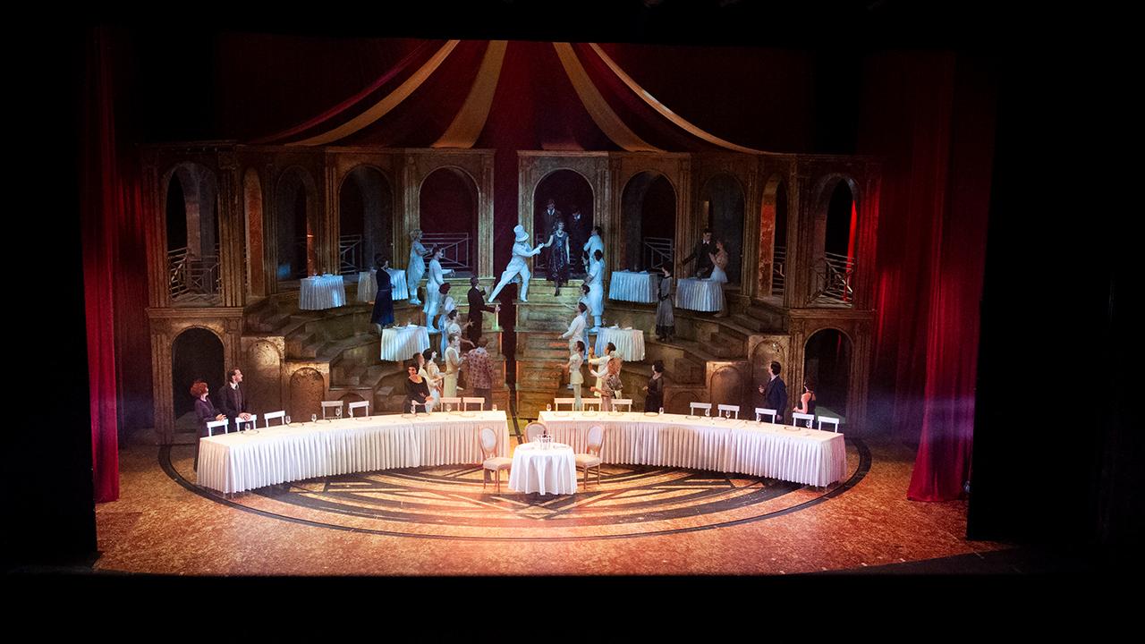 Die neue L-ISA Installation beeindruckte das Publikum im Rahmen der aktuellen Princess of the Circus Produktion.