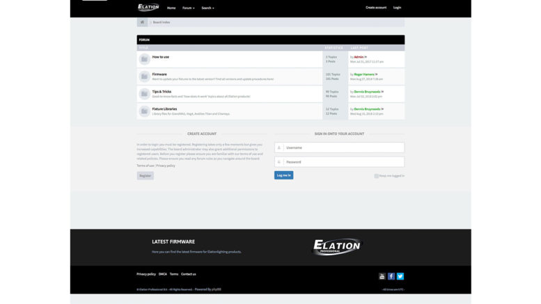 ELATION launcht Software-Forum (Foto: © LMP)