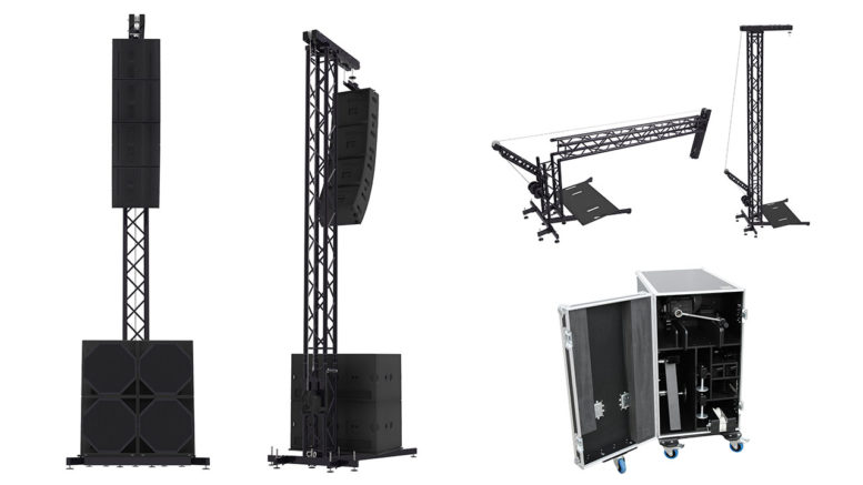 Der Voice Acoustic PA Tower VAPATO