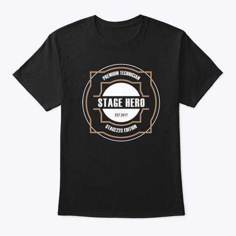 """Das """"stagehero"""" Shirt - Für alle Technikhelden auf der Produktion!"""