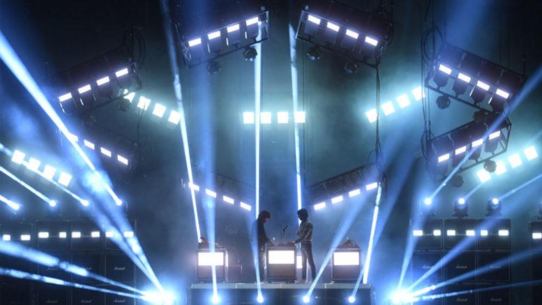 """©Messe Frankfurt: """"Woman Worldwide Tour"""" der französischen Band Justice."""