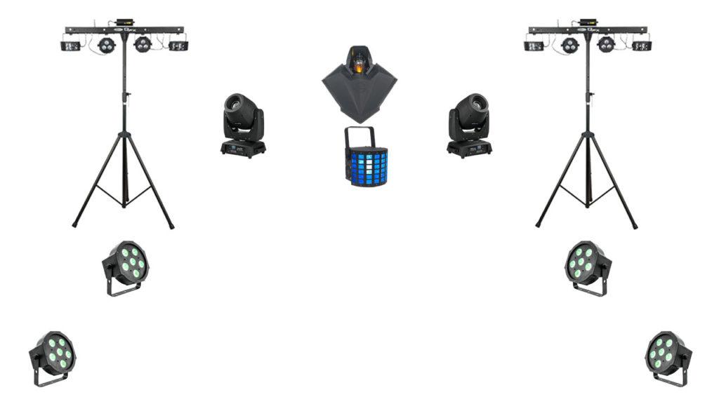 Beispiel Setup Light rider Buch