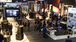 Hot-Spot für Audio-Professionals: Top- Marken und neue Programmhighlights auf Prolight + Sound und Musikmesse 2019