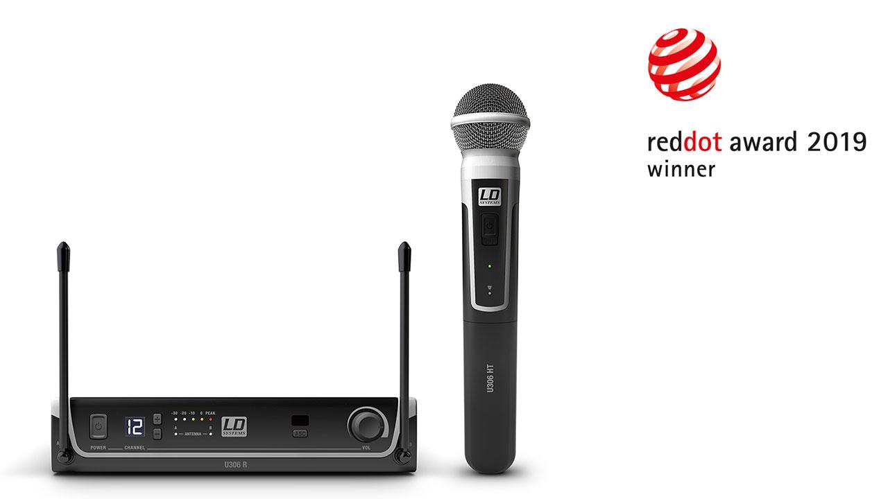 LD Systems U300® Series und Cameo ZENIT® B200 erhalten Auszeichnung für hohe Designqualität im Red Dot Award: Product Design 2019