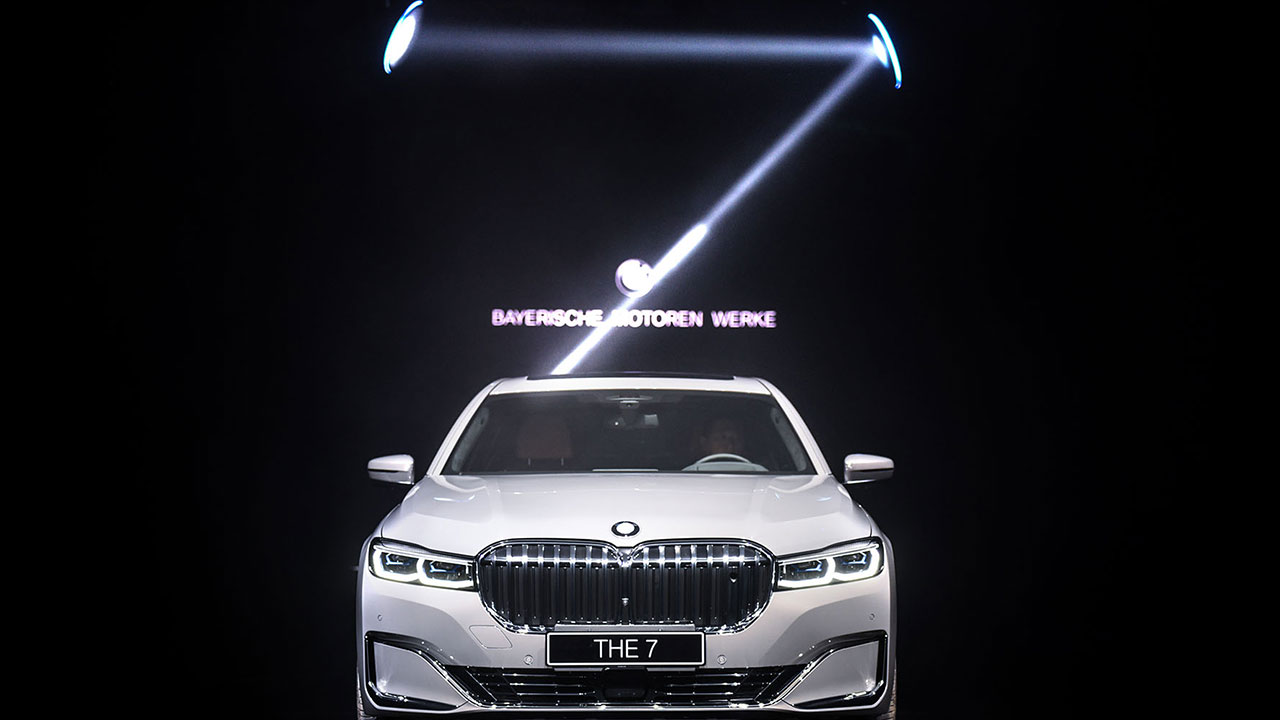 Inszenierung des BMW 7 Launch-Events in Shanghai ©China Kingway