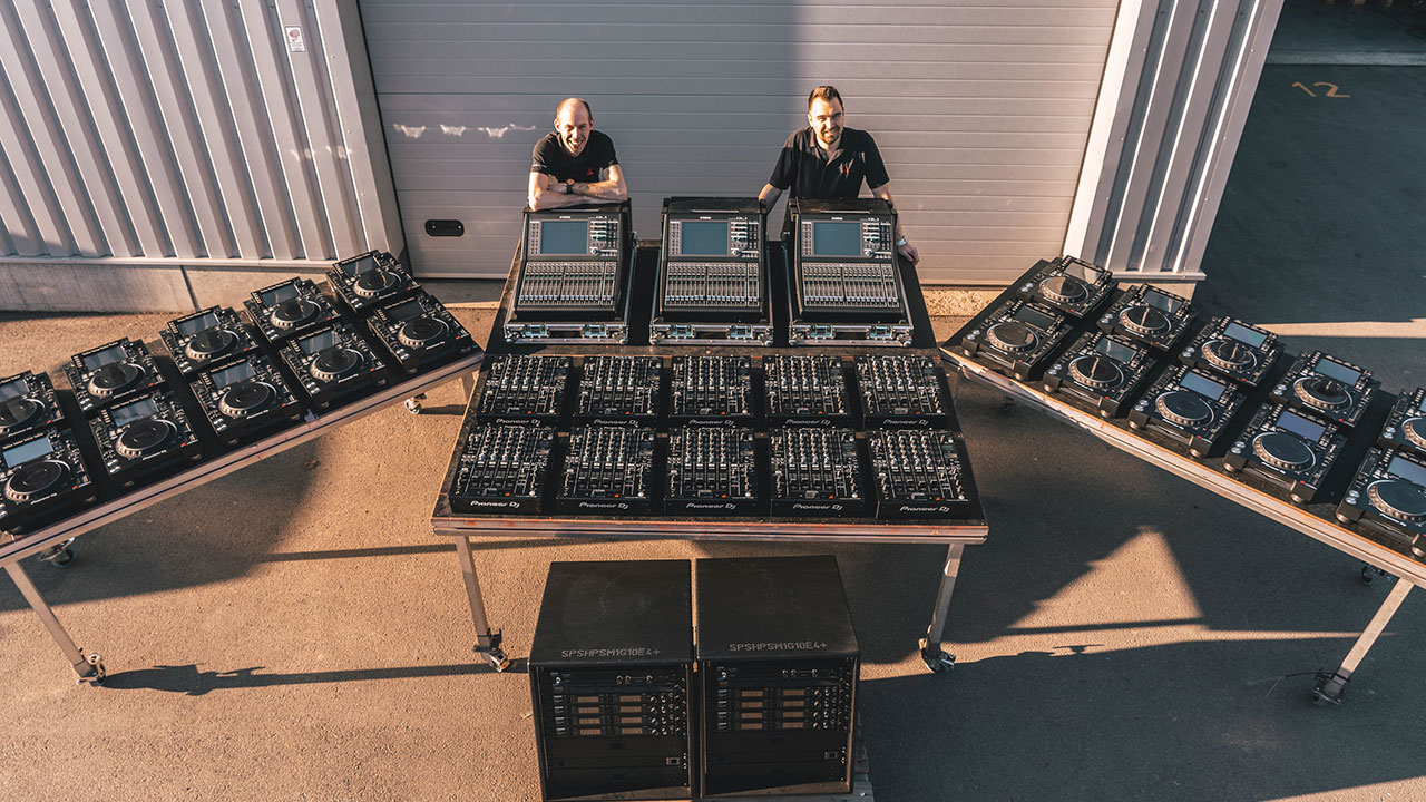 AED Rental baut Portfolio weiter aus, Standbausystem Expo Tools von Luxibel (Fotos: AED)