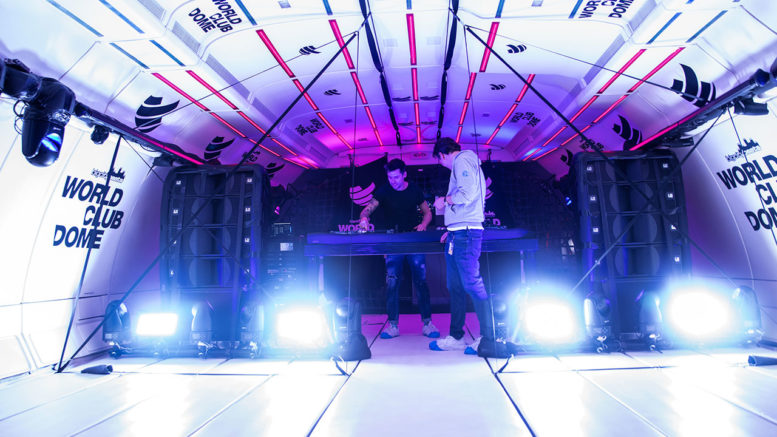 Adam Hall Group begleitet World Club Dome Zero-G-Flug von BigCityBeats