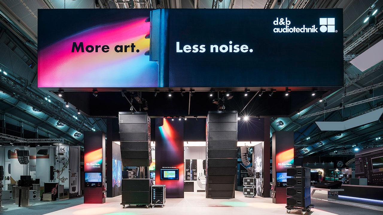 Zukunftssicherheit durch angewandte Evolution. d&b audiotechnik auf der Prolight + Sound 2019.