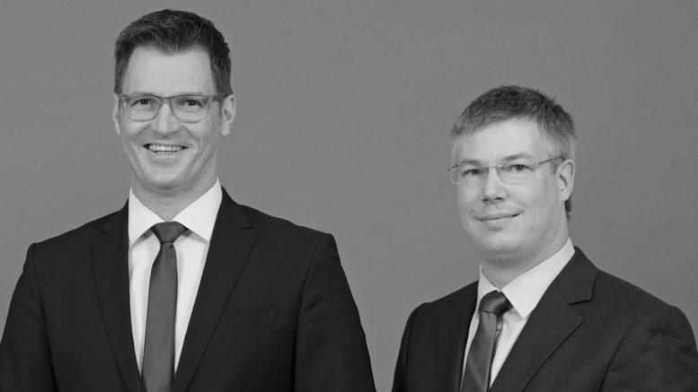 Andrew Abele, Oliver Nachbauer (von links, Foto: Susanne Krumm)