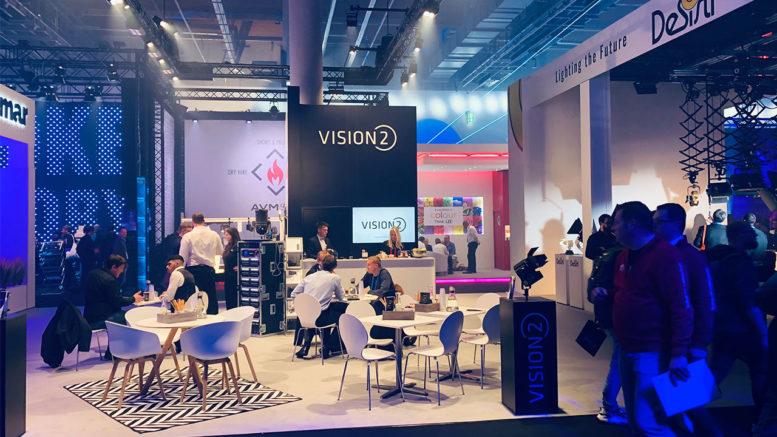 Das VisionTwo Team kehrt sehr zufrieden, hoch motiviert und inspiriert von einer erfolgreichen prolight+sound Messeteilnahme zurück.