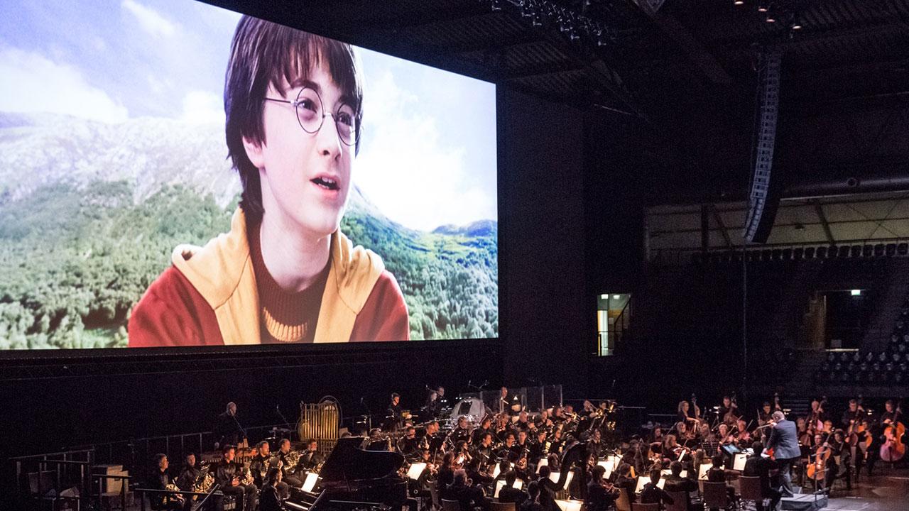 Harry Potter und der Stein der Weisen – in Concert feierte am 27. April 2019 in der SAP Arena Mannheim Premiere. ©Frank Embacher