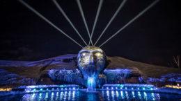Lichtfestival in den Swarovski Kristallwelten mit Proteus Hybrid (Fotos: © Optikalusion)