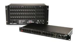 """Allen & Heath ist den neuen Dante-fähigen I/O Boxen auf den Fersen und erweitert sein I/O-System """"Everything I/O"""" durch zwei neue Remote Audio Expander, den GX4816 und den DX012."""