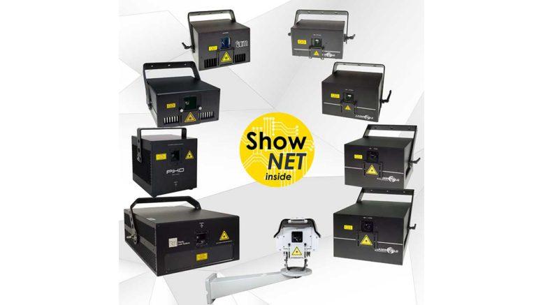 ShowNET wird Mainboard für die meisten Lasersysteme der Laserworld Group